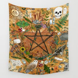 Witch tools Wall Tapestry