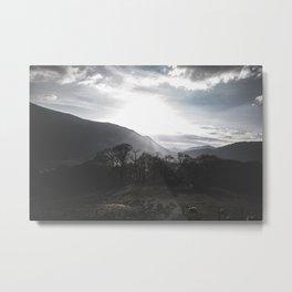 Sunrise or Sunset? Metal Print