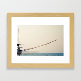 the broad pattern of hunting Framed Art Print
