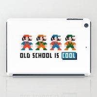 mario iPad Cases featuring Mario by PixelPower