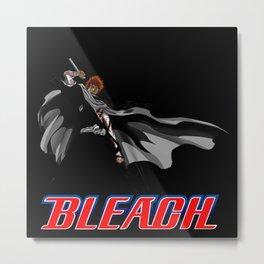 Ichigo Kurosaki Great 00 Metal Print