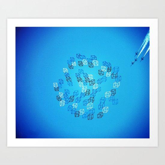 Photo Cube #1 Art Print