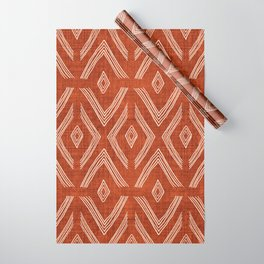 Birch in Rust Wrapping Paper