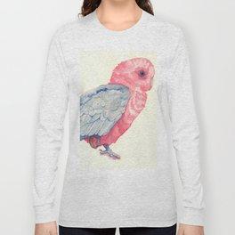 Pink parrot Long Sleeve T-shirt