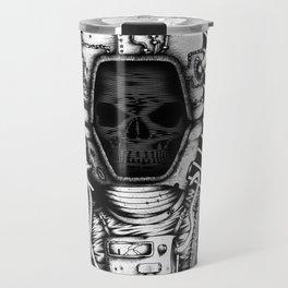 Skelenaut V3 (Black & White) Travel Mug