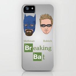 Breaking Bat iPhone Case