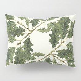 Oak ensemble (Cream  ground) Pillow Sham