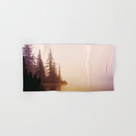 Sunset at Lake Hand & Bath Towel