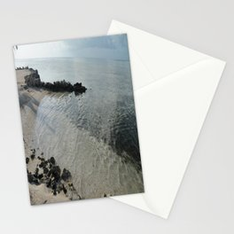 Your own private beach...  Stationery Cards