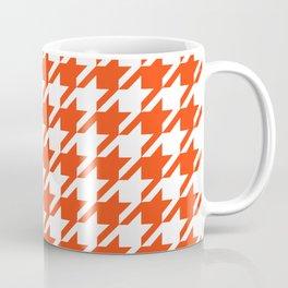 Florida fan gators university orange and blue team spirit football college sports houndstooth Coffee Mug