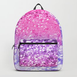 Unicorn Girls Glitter #6 #shiny #decor #art #society6 Backpack