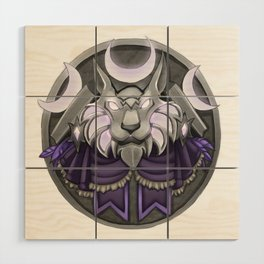 Light crest Wood Wall Art