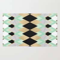 queen Area & Throw Rugs featuring Queen by Elisabeth Fredriksson