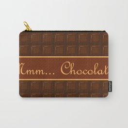 Mmm Chocolate Carry-All Pouch