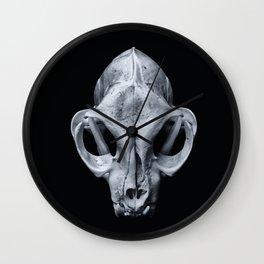 Feline Calvariae Locus I Wall Clock