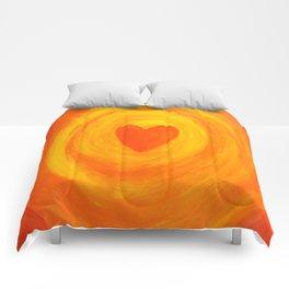 I  Embrace MY LOVE Comforters
