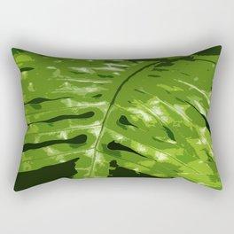 Decorative Fern Rectangular Pillow
