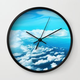 Above the world Wall Clock