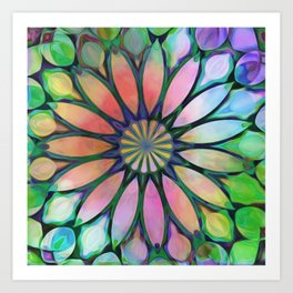 Tropical Flower Dream Art Print