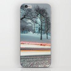 Silent Winter Drive iPhone & iPod Skin