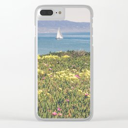 Sail Santa Barbara Clear iPhone Case