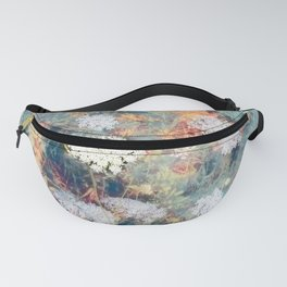 Queen Anne's Lace Wildflower Fanny Pack