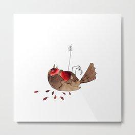 Who killed cock robin? Metal Print