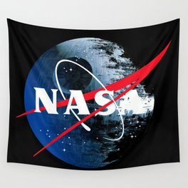 The Second NASA Death Star Wall Tapestry