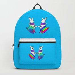 Rainbow Rabbit Backpack