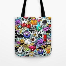 graffiti fun Tote Bag