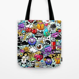 graffiti fun Tote Bag