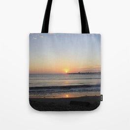 Sunset at Peru Tote Bag