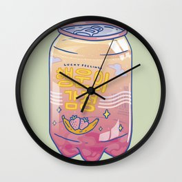 Lucky Feelings Wall Clock