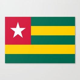 Flag of Togo Canvas Print
