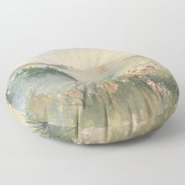 A Foothill Spring Floor Pillow
