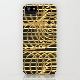 Gold Madness iPhone Case