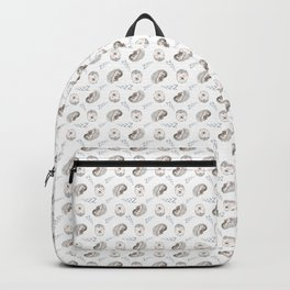 Sleepy Hedgehogs Backpack