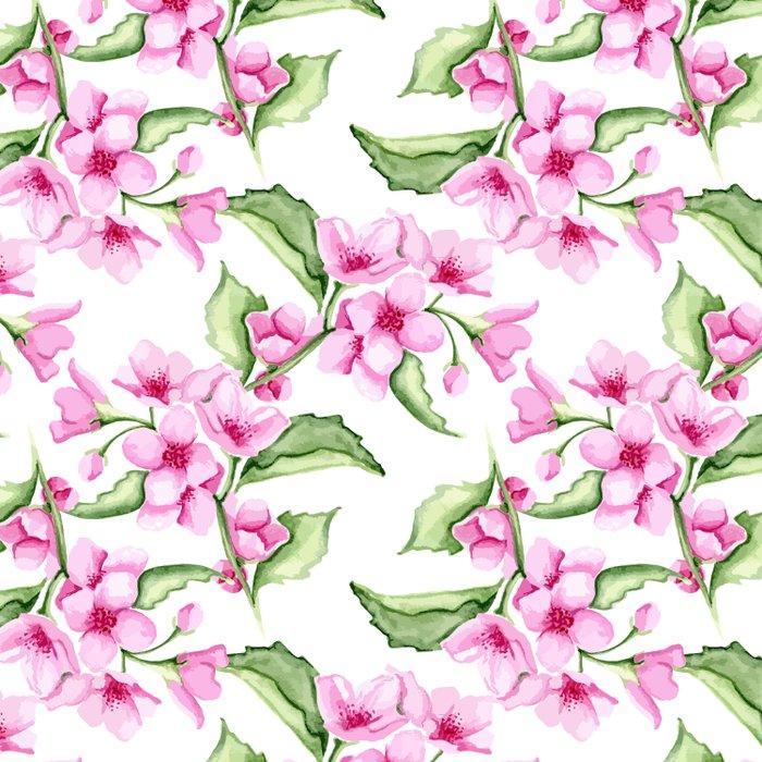 Sakura. Watercolor Comforters
