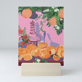Still Life with Oranges Mini Art Print
