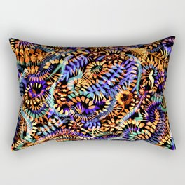 Orange Parade Rectangular Pillow