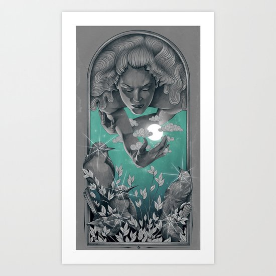 The Bird Keeper Art Print