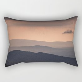Blue Ridge Parkway Sunset - Shenandoah National Park Rectangular Pillow