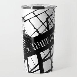 Escape in Black & White Travel Mug