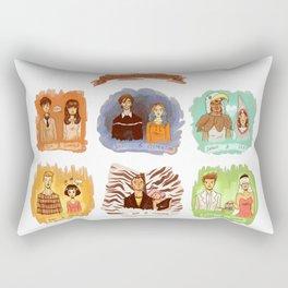 My favorite romantic movie couples Rectangular Pillow