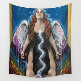 Love Ascending Wall Tapestry