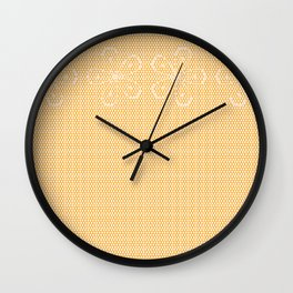 Skin Tone Lace Wall Clock