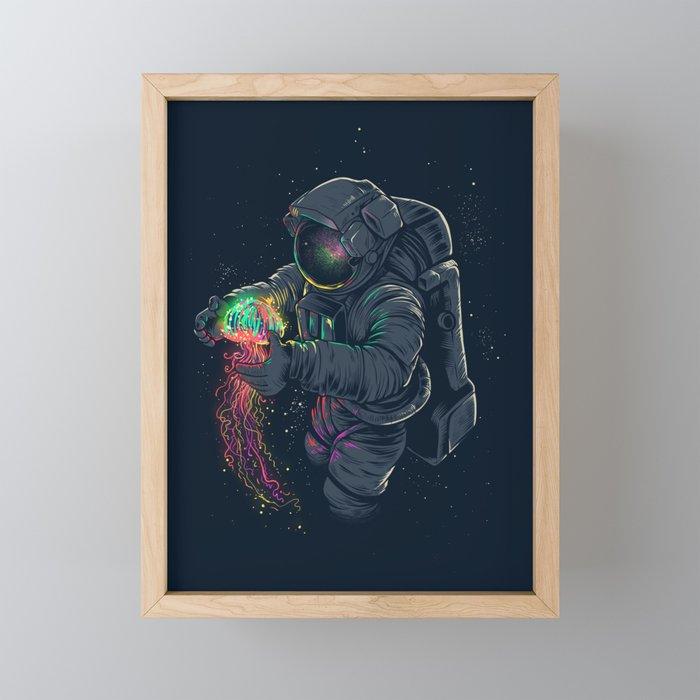 Jellyspace Framed Mini Art Print