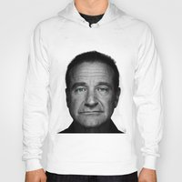 robin williams Hoodies featuring Robin Williams by Ionic Slasher