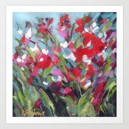 Poppy Dawn Art Print