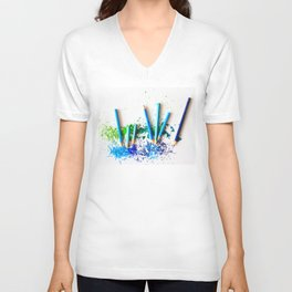 Sharper Color Unisex V-Neck